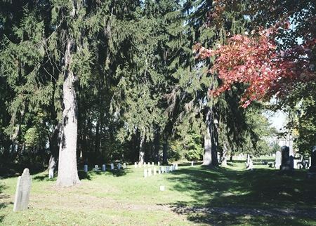 The Ashland Cemetery Soldiers' Lot.