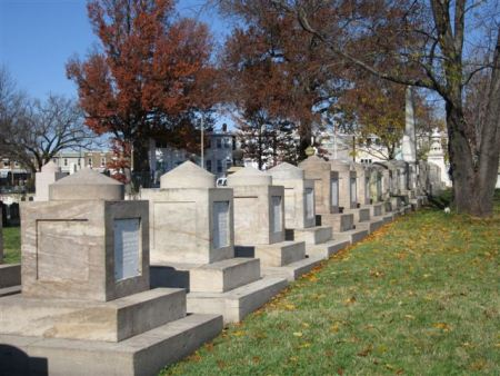 Cenotaphs at Congressional Cemetery.