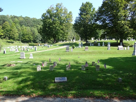 The Green Mount Cemetery Soldiers' Lot in Montpelier, Vt.