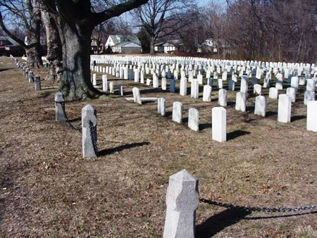 The Mount Moriah Cemetery Naval Plot.