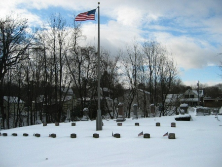 The Prospect Hill Cemetery Soldiers' Lot in Brattleboro, Vt.