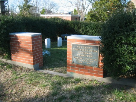 The VA's smallest national cemetery--Hampton National Cemetery (VAMC).
