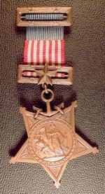 Navy Medal of Honor, early design.
