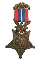 Army Medal of Honor with 1896 ribbon.
