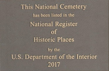 National Register of Historic Places (NRHP) Plaque