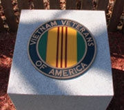 Vietnam Veterans of America plaque at Calverton National Cemetery