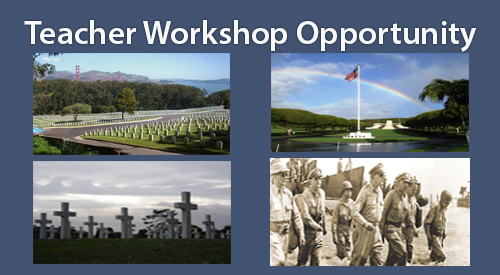 NCA Veterans Legacy Program - Teacher Workshop Opportunity
