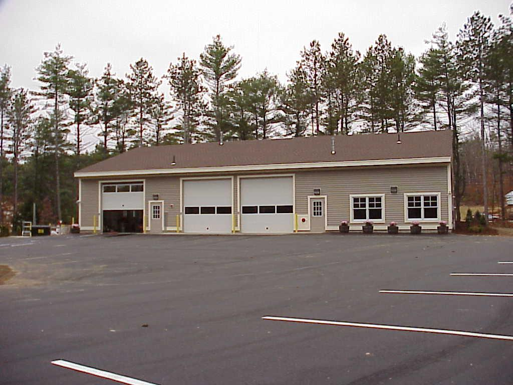 Picture of a cemetery's maintenance building