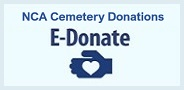 NCA Cemetery Donations - E-Donate badge
