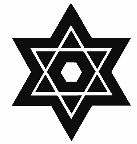 HEBREW (Star of David)