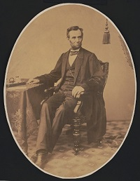 Lincoln photographed by Alexander Gardner on November 8, 1863. Library of Congress.