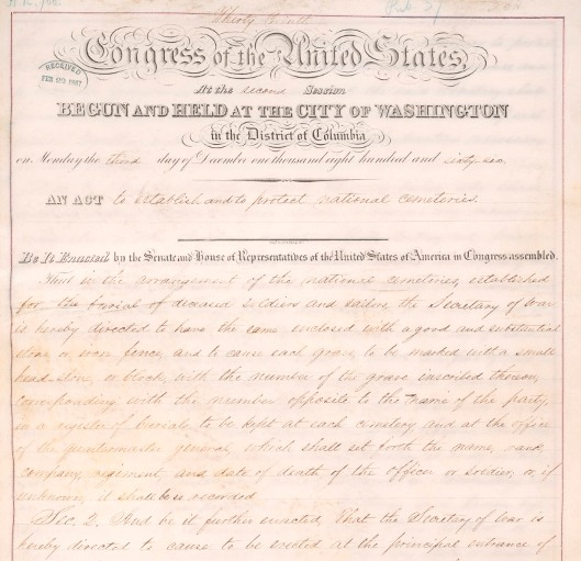 Image of the original legislation