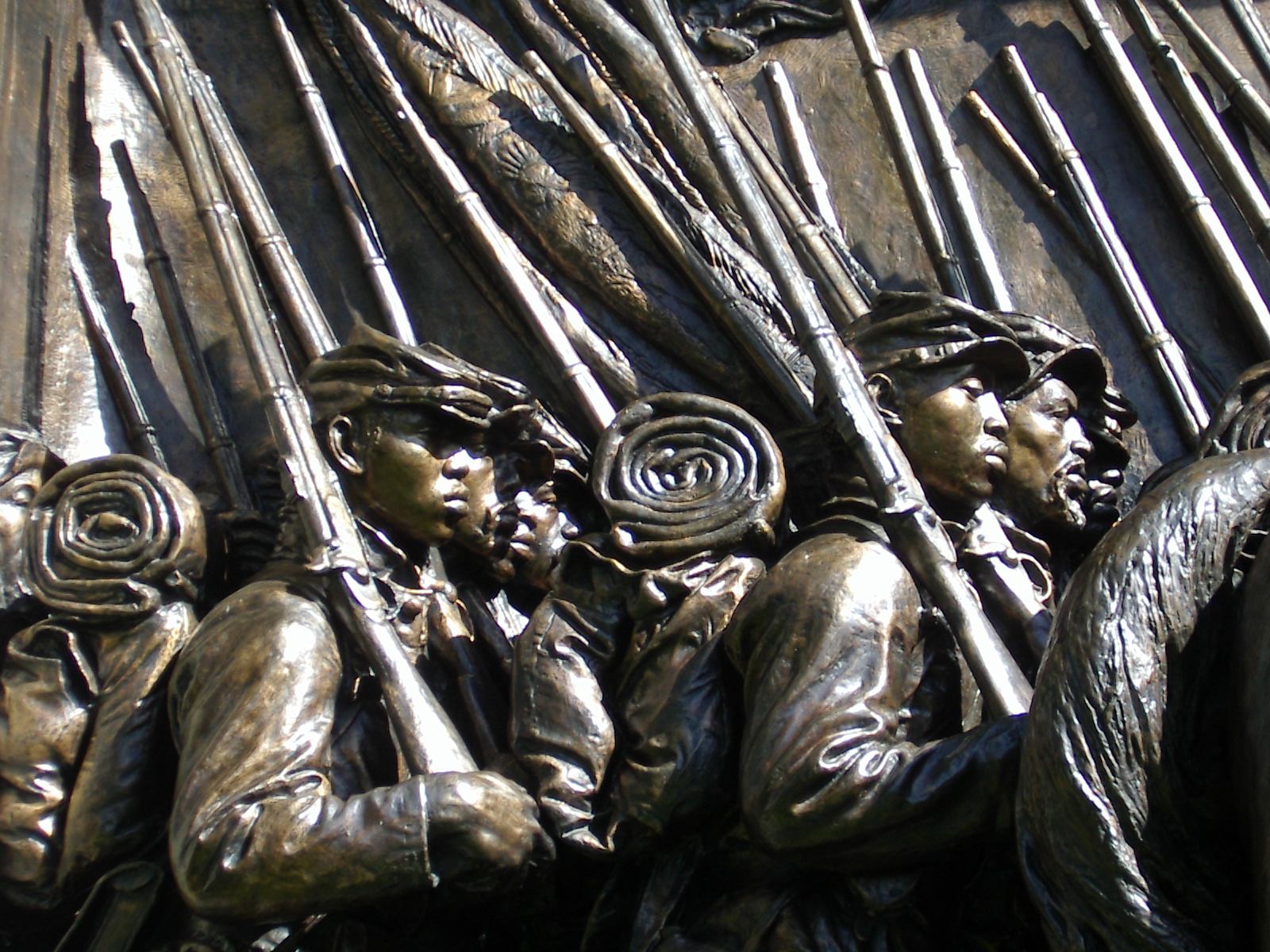 Memorial to Robert Gould Shaw and the 54th Massachusetts