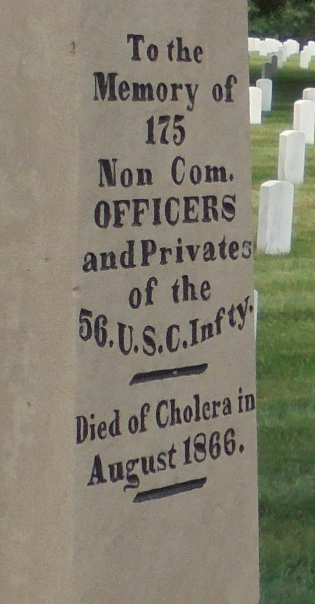 U.S. Colored Infantry Grave Marker (1866)