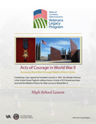 High School Lessons - Acts of Courage in World War II
