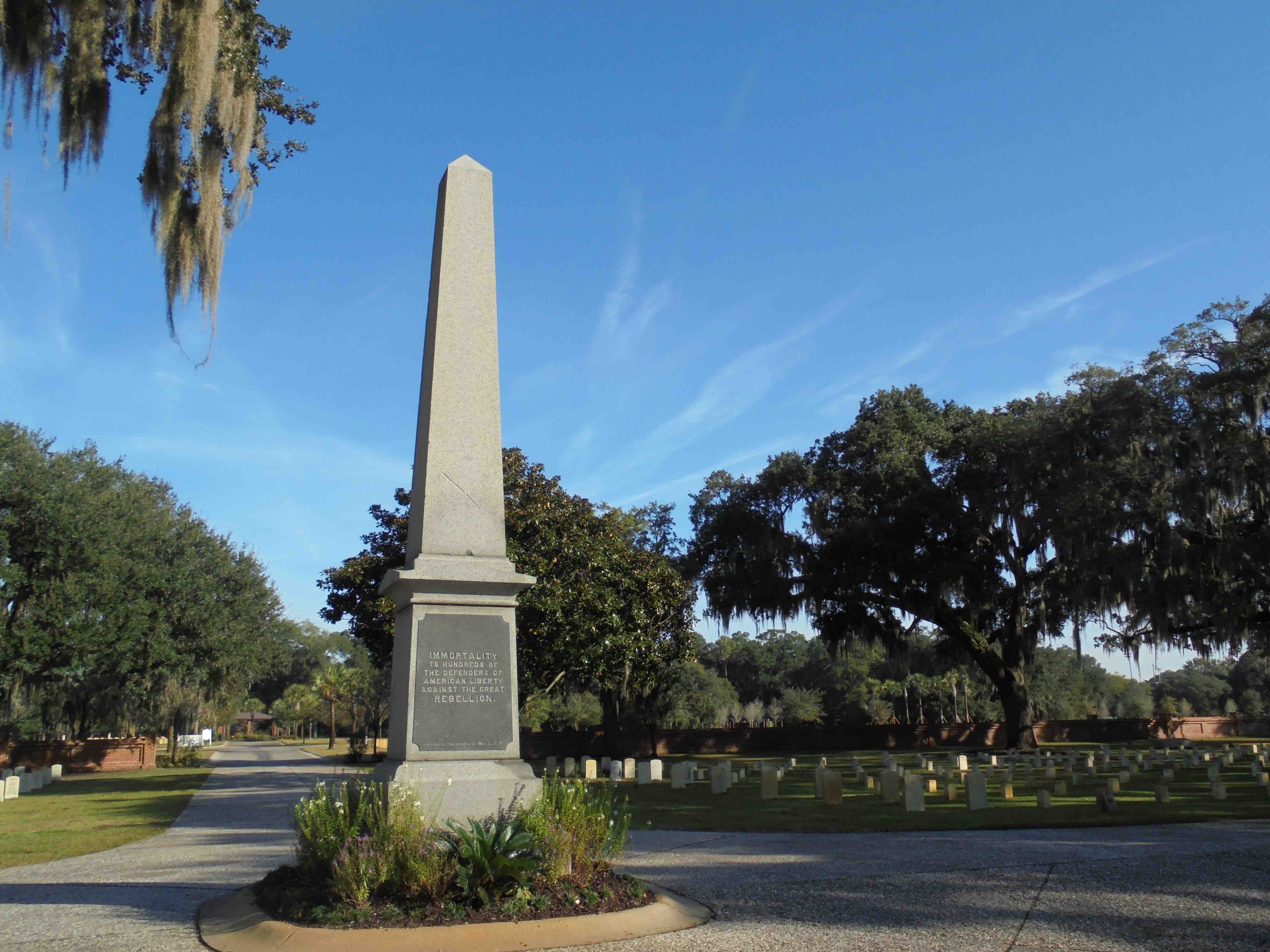 Union Soldiers Obelisk (1868)