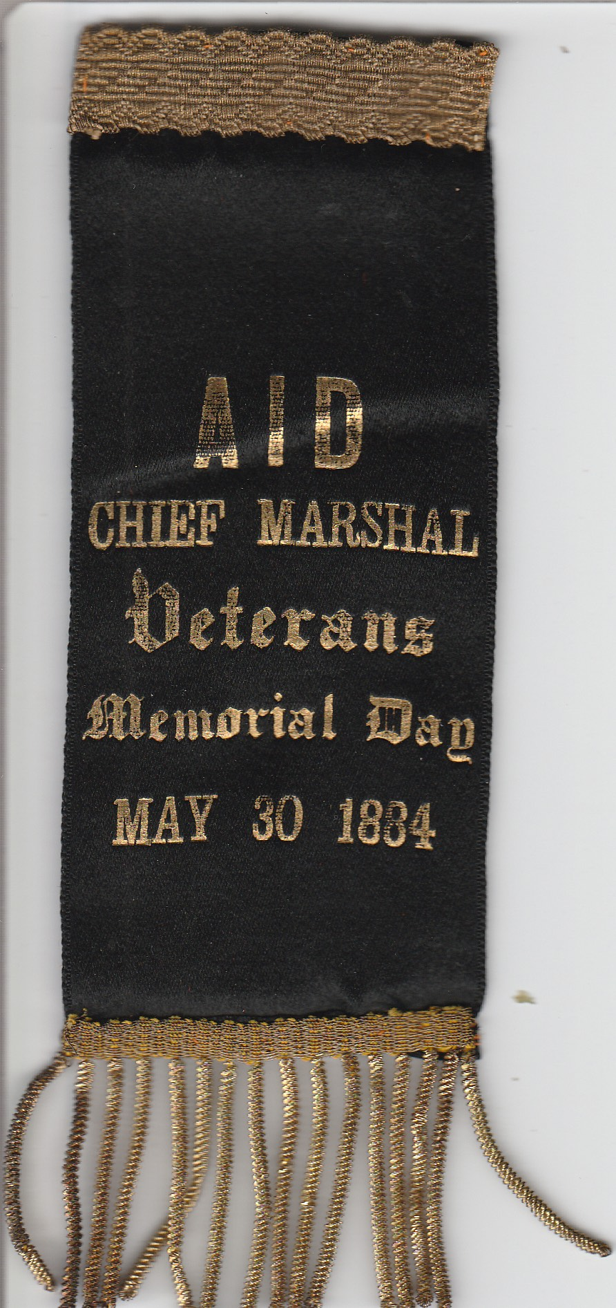 Chief Marshal Ribbon
