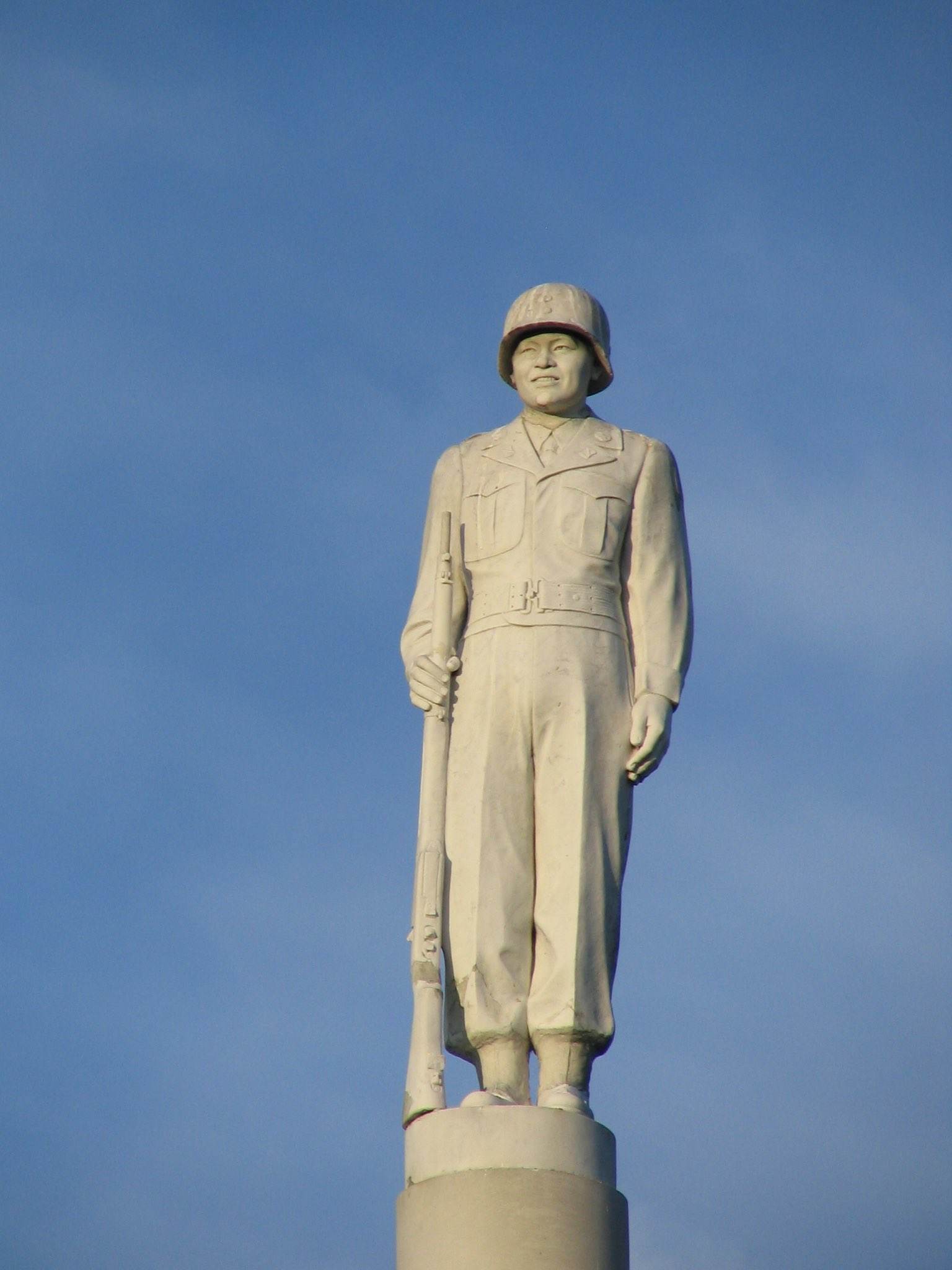Japanese Soldier Statue