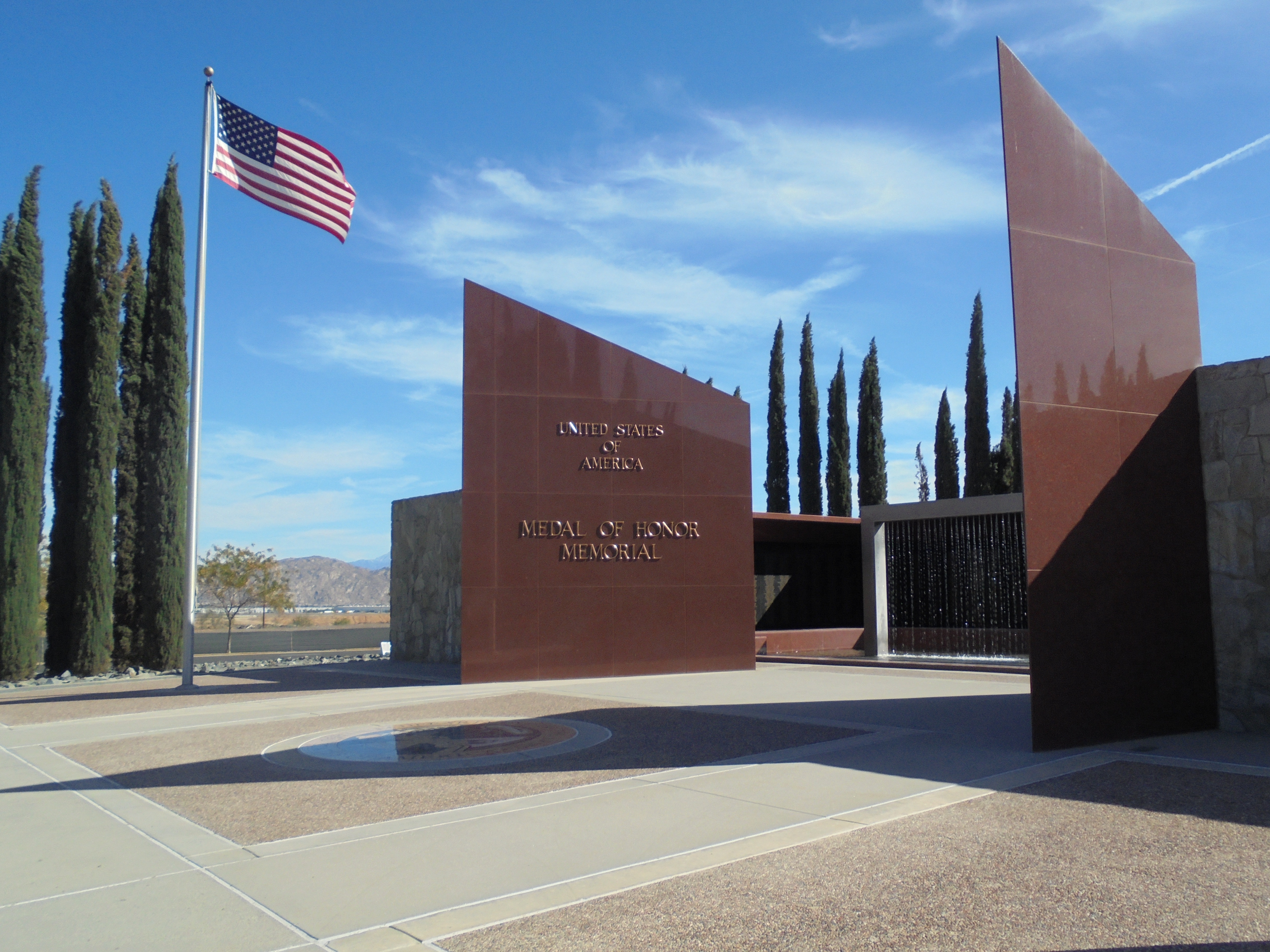Medal of Honor Memorial, Riverside National Cemetery, Riverside, CA